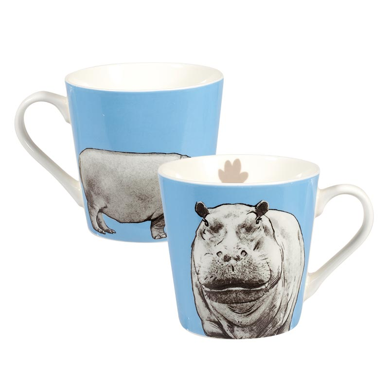 The Kingdom Hippo Bumble Mug