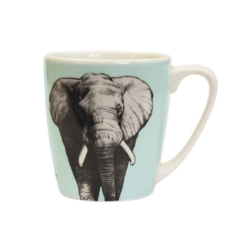 The Kingdom Elephant Acorn Mug