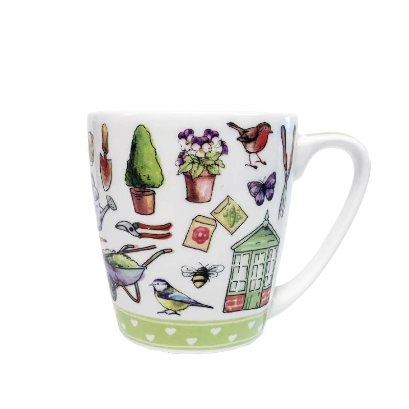 Living the Dream Garden Life Acorn Mug