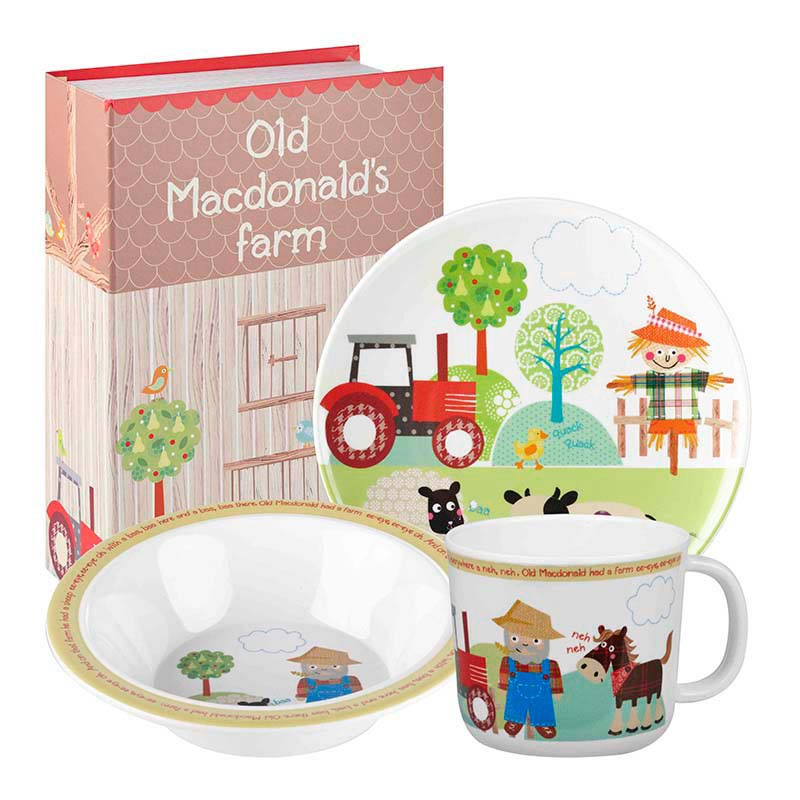 Old MacDonald Melamine Set