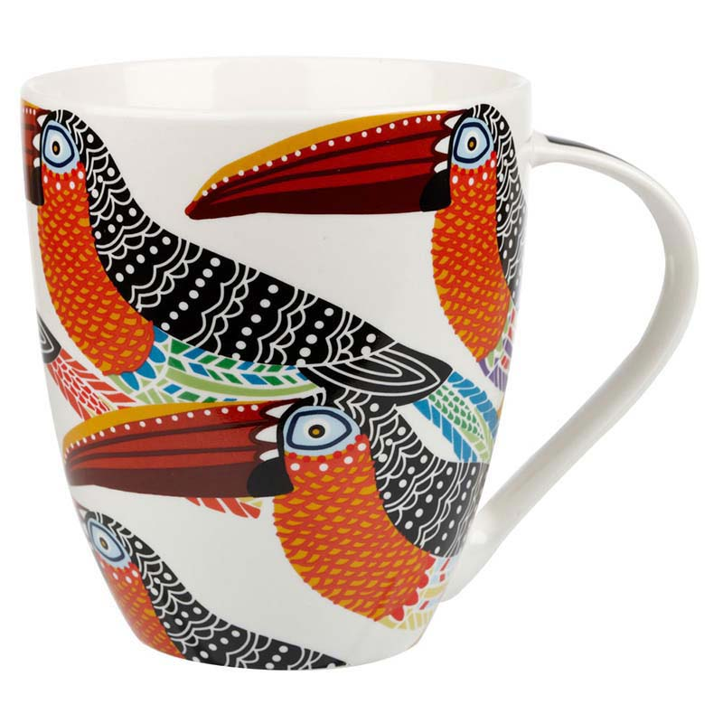 Tribal Toucans Crush mug