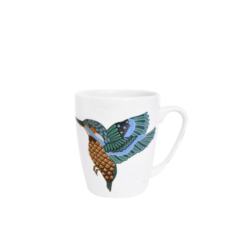 Paradise Birds Kingfisher Oak Mug