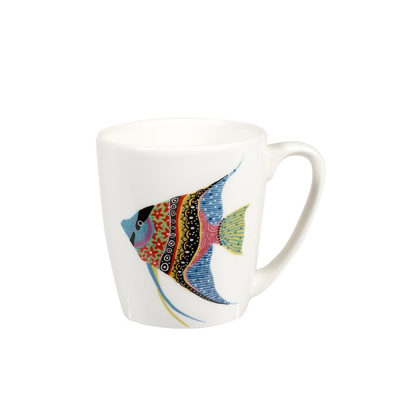 Paradise Fish Angel Fish Acorn Mug