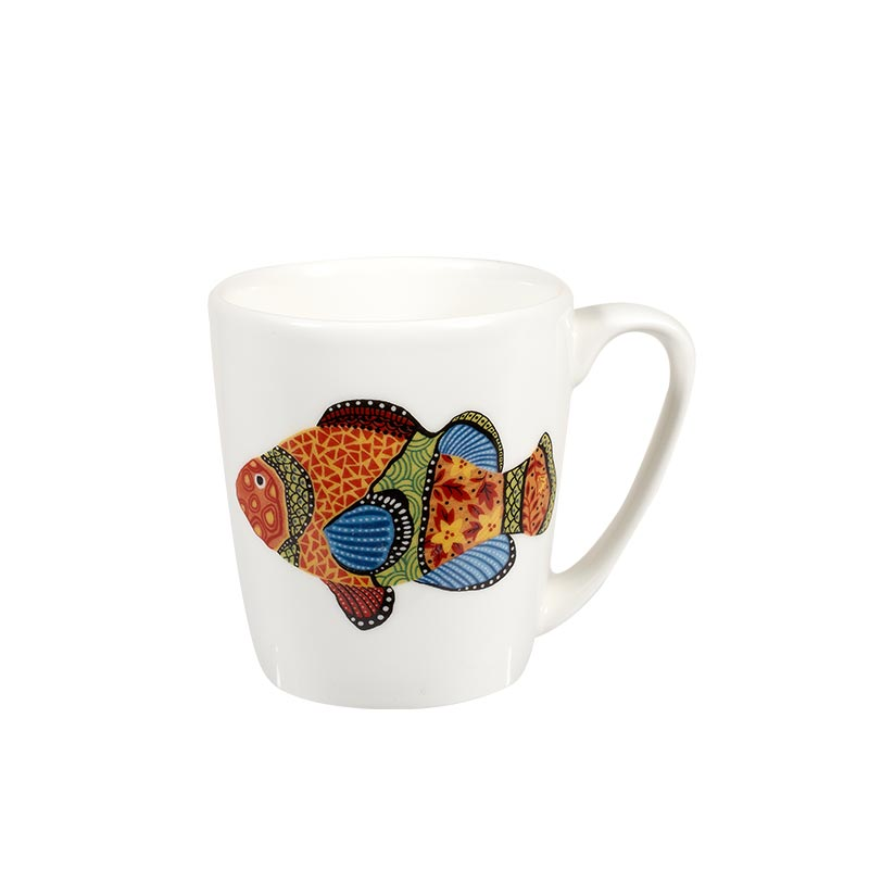 Paradise Fish Clown Fish Acorn Mug