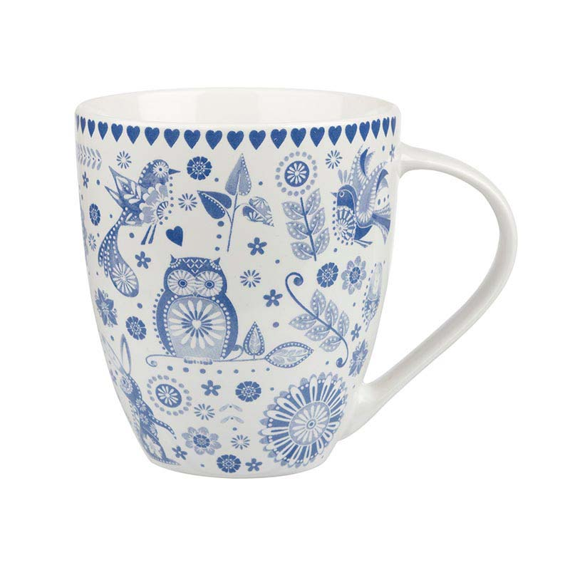 The Caravan Trail Penzance Blue Crush Mug