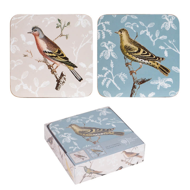 Curious Birds Coasters