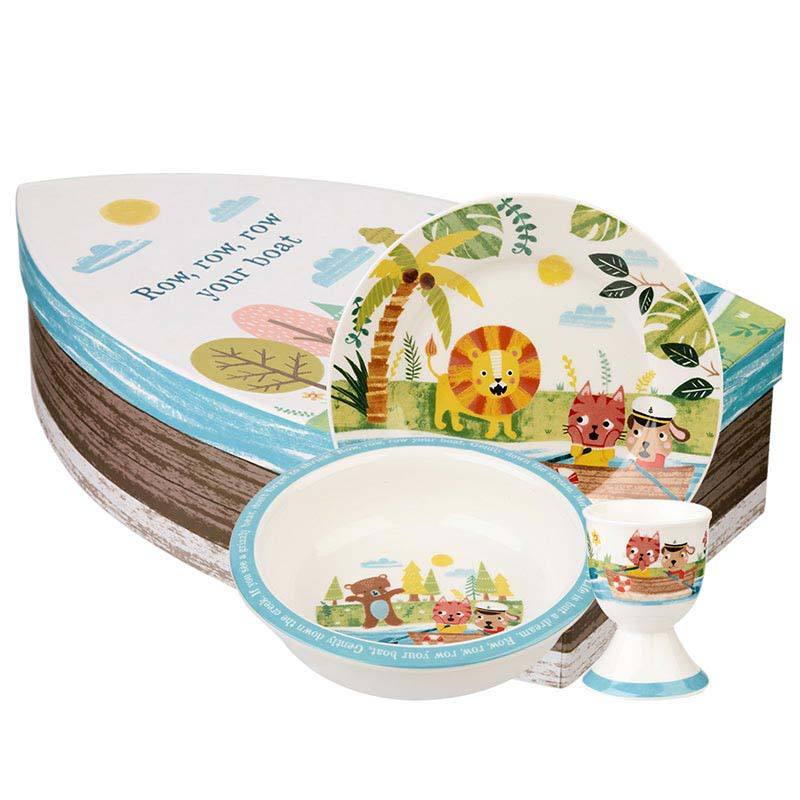 Row Your Boat 3 Piece Ceramic Set