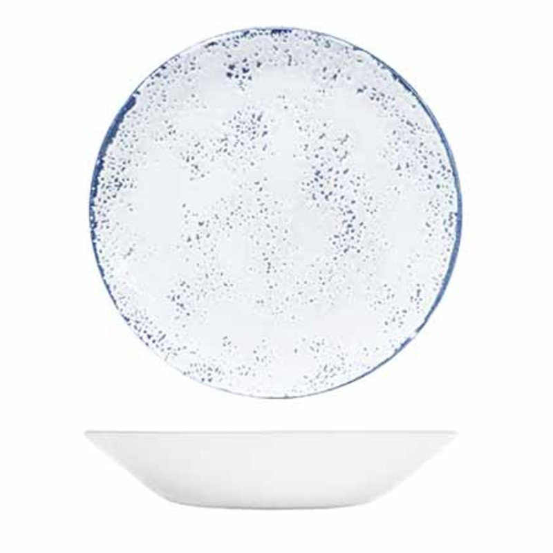 Umbria Blue 20cm Coupe Bowl