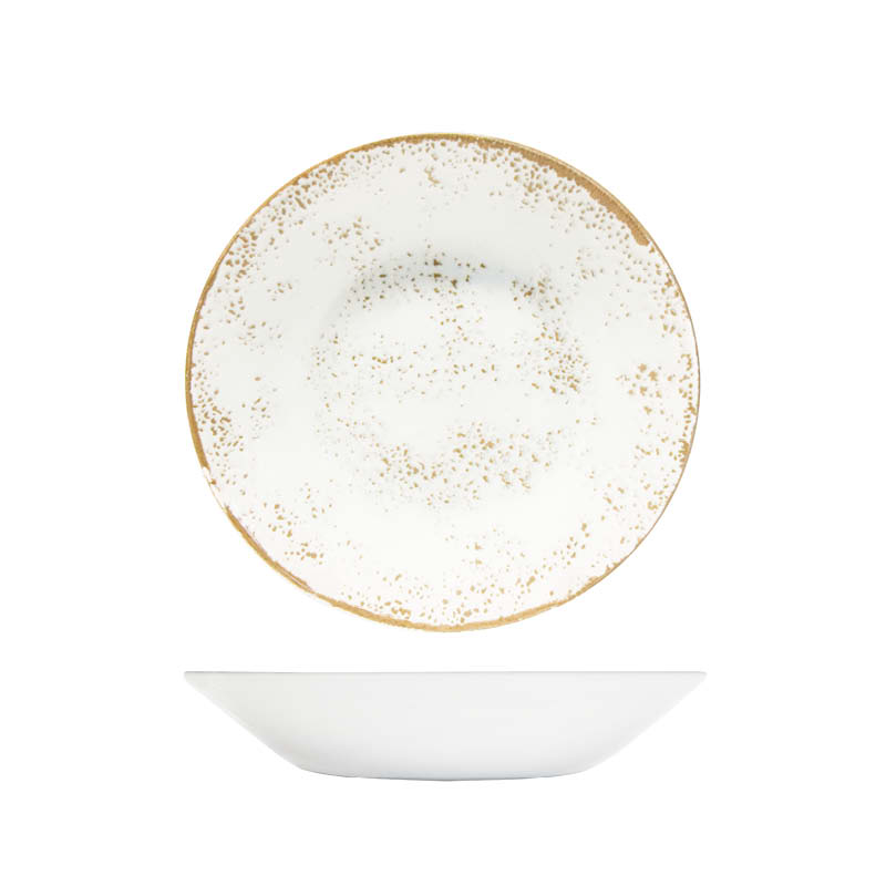Umbria White 20cm Coupe Bowl