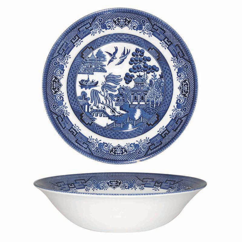 Blue  Willow Salad Bowl