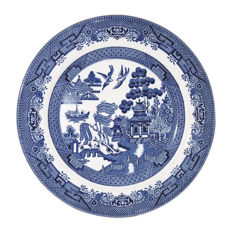 Blue Willow Salad Plate
