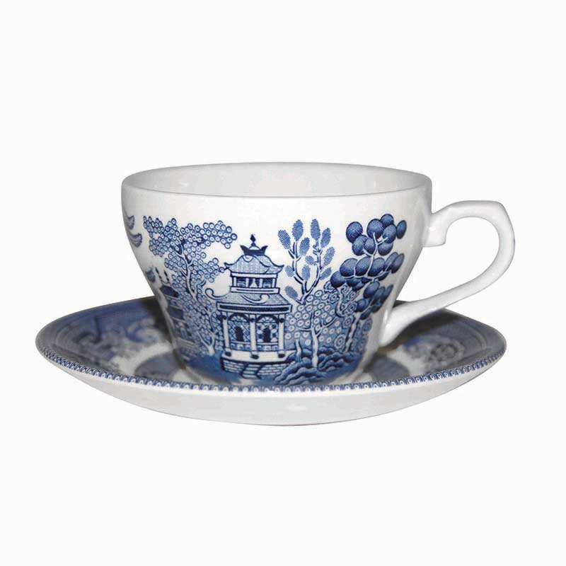 Blue Willow Tea Saucer