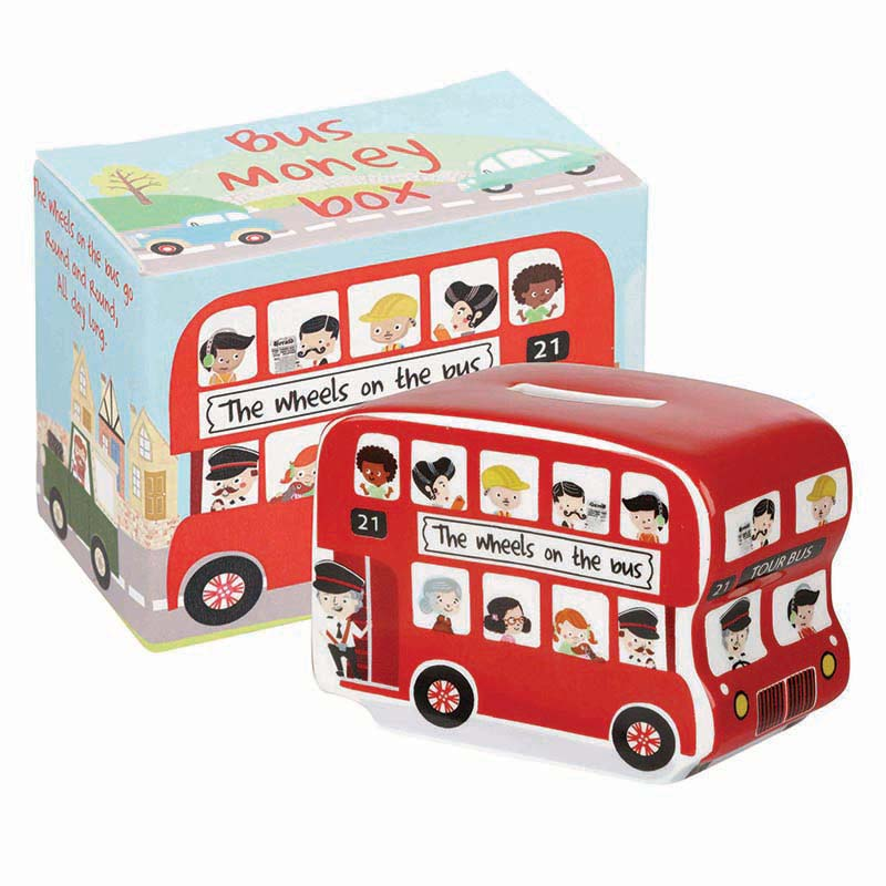 Little Rhymes Wheels On The Bus Money Box
