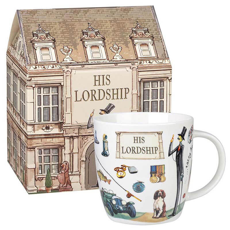 His Lordship mug in Giftbox