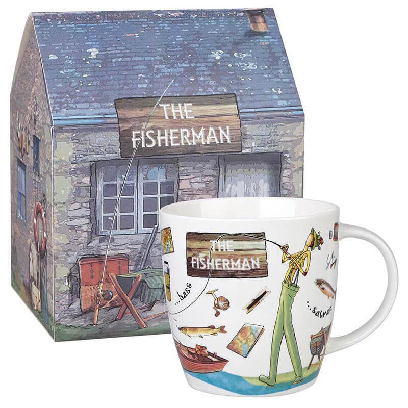 The Fisherman Mug in Giftbox