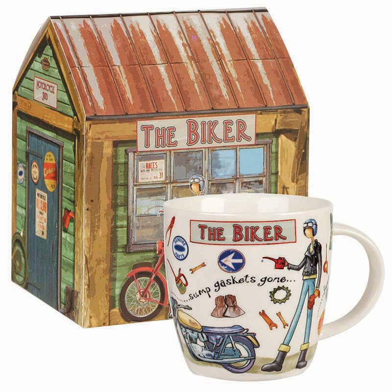 The Biker Mug in Giftbox