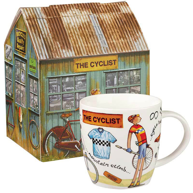 The Cyclist Mug in Giftbox