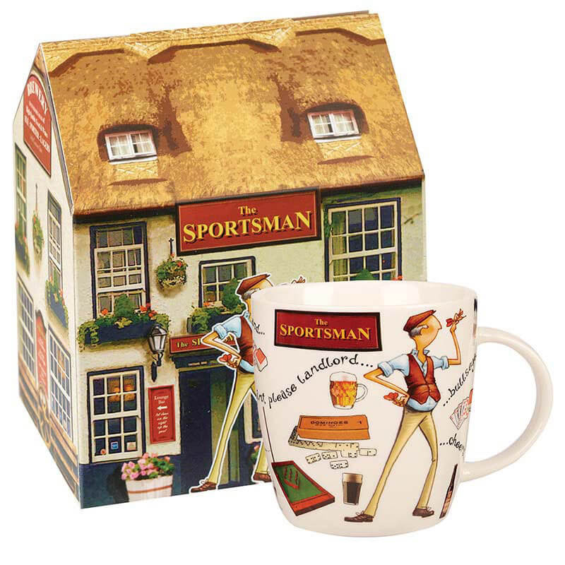 At Your Leisure The Sportsman Mug in Gift Box
