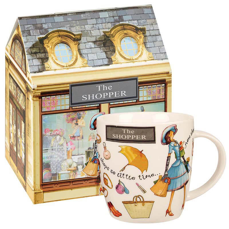 At Your Leisure The Shopper Mug in Gift Box