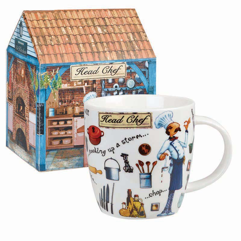 At Your Leisure Head Chef Mug in Gift Box